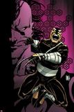 Daken: Dark Wolverine No91 Cover: Daken Jumping and Screaming