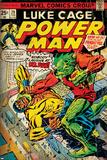 Marvel Comics Retro: Luke Cage  Power Man Comic Book Cover No29  Fighting Mr Fish (aged)