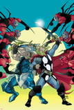 Thor No620 Cover: Thor and Odin Fighting
