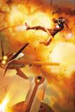 Invincible Iron Man No31 Cover: Iron Man Flying