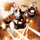 Invincible Iron Man No507 Cover: Rescue Flying