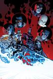 All-New X-Men 11 Cover: Magik  Cyclops  Frost  Emma  Angel  Magneto  Grey  Jean  Iceman  Beast