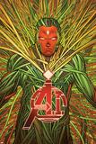 Avengers AI 8 Cover: Vision