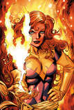 X-Men Forever 2 No16 Cover: A Flaming Phoenix
