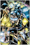 Thor: First Thunder No5: Panels with Odin