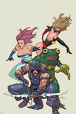 Spider-Island: Avengers No1: Hawkeye  Ms Marvel  Jessica Jones  and Frog-Man