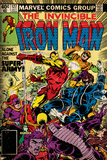Marvel Comics Retro: The Invincible Iron Man Comic Book Cover No127  Against the Super-Army!