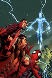 Ultimate Spider-Man No159 Cover: Kraven The Hunter and Electro for the Death of Spider-Man