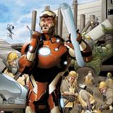 Invincible Iron Man No506 Cover: Iron Man