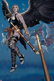 Ultimate New Ultimates No5: Valkyrie in the Rain with a Sword