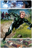 Avengers: The Childrens Crusade No2: Panels with Speed Running