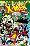 Marvel Comics Retro: The X-Men Comic Book Cover No94  Colossus  Nightcrawler  Cyclops  Banshee