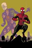 Avenging Spider-Man 21 Cover: Chameleon  Spider-Man