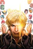 Longshot Saves the Marvel Universe 1 Cover: Longshot  Captain America  Hulk  Cyclops  Thor