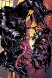 Ultimate Comics Spider-Man 22 Cover: Venom  Spider-Man