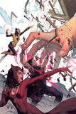 Avengers Assemble 20 Cover: Wasp  Wonder Man  Scarlet Witch