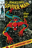 Marvel Comics Retro: The Amazing Spider-Man Comic Book Cover No100  100th Anniversary Issue