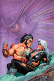 Wolverine & Black Cat: Claws 2 No3 Cover: Wolverine Lifting Black Cat