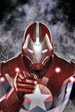 Ultimate Comics Ultimates 19 Cover: Iron Patriot