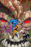 Wolverine and the X-Men 33 Cover: Beast  Wolverine  Summers  Rachel  Lockheed  Pryde  Kitty  Storm