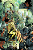 Fear Itself No7: Wolverine  Ms Marvel  Red She-Hulk  Iron Fist  Dr Strange  and Others