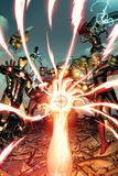 Avengers 8 Cover: Iron Man  Captain America  Devoux  Tamara  Hulk  Ms Marvel  Thor  Hyperion