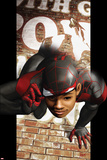 Ultimate Comics Spider-Man No6 Cover: Spider-Man Transforming