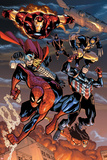 The Amazing Spider-Man No648: Spider-Man  Captain America  Thor  Iron Man  Wolverine  and Hawkeye