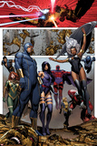 Uncanny X-Men No4: Cyclops  Storm  Psylocke  Magneto  Hope Summers  Namor  Magik  Colossus  Danger