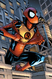 Marvel Adventures Spider-Man No9 Cover: Spider-Man Jumping