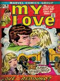 Marvel Comics Retro: My Love No18 Cover: Kissing