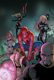 The Amazing Spider-Man No653 Cover: Spider-Man  Luke Cage  Iron Fist  Ms Marvel and Others