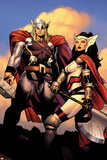 The Mighty Thor No2: Sif and Thor