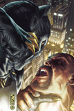 Black Panther: The Man Without Fear No517 Cover: Black Panther Fighting