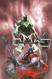 Fear Itself: Hulk vs Dracula No3 Cover: Hulk Standing Over a Fallen Dracula