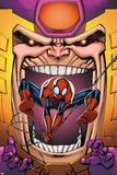 Marvel Adventures Spider-Man No23 Cover: Spider-Man and MODOK