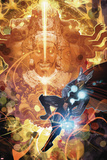 Chaos War: Thor No1 Cover: Thor Fighting