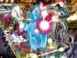 Avengers No4: Ultron Flying and Fighting