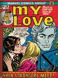 Marvel Comics Retro: My Love No20 Cover: Kissing