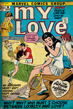 Marvel Comics Retro: My Love No16 Cover: Sitting