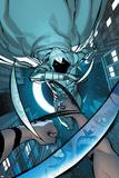 Daken: Dark Wolverine No14 Cover: Moon Knight Jumping