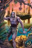 Ka-Zar No1: Ka-Zar and Zabu Walking in the Jungle