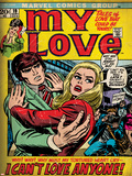Marvel Comics Retro: My Love No19 Cover: Fighting