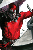 Vengeance No1 Cover: Magneto Smashing