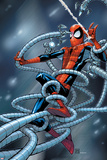 Marvel Adventures Spider-Man No6 Cover: Spider-Man Trapped