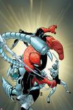 Superior Spider-Man 12 Cover: Spider-Man  Scorpion  Boomerang