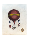 Vintage Hot Air Balloons III