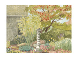 Watercolor Garden I