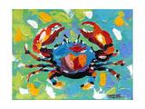 Seaside Crab I Reproduction d'art par Carolee Vitaletti