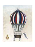 Vintage Hot Air Balloons VI